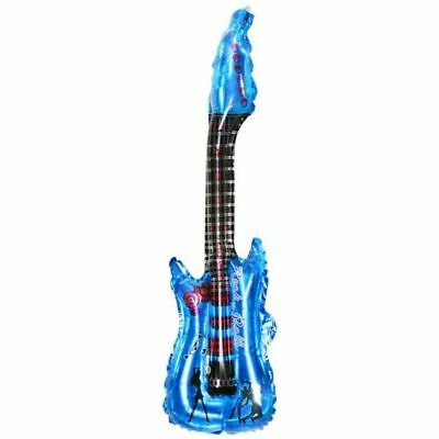£2.85 • Buy Inflatable Blow Up Guitar Balloons Toy Musical Instruments For Kids Play Party