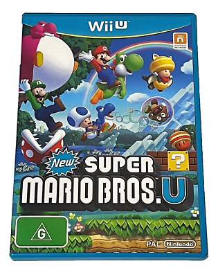 AU28.90 • Buy New Super Mario Bros U Nintendo Wii U PAL *No Slip*