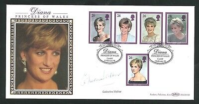 £15.50 • Buy 1998 Diana - Cardiff Pmk - Signed By Catherine Walker - Post Free