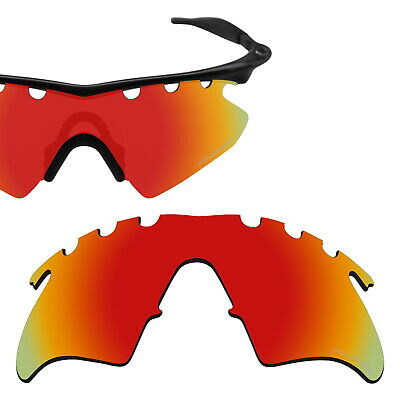 6f90cc6749 LO Anti-seawat Fire Polarized Lens Replacement For-Oakley M Frame Heater  Vented •