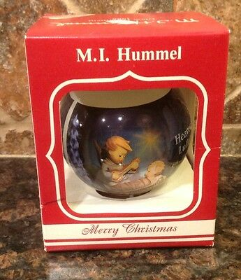 $6.80 • Buy M. J. HUMMEL GLASS ORNAMENT 1988 Ars Edition Heavenly Lullaby 6th ANNUAL EDITION