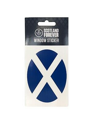Scottish Oval Sticker Scotland Stickers St Andrews Flag Saltire Car Van Decal • 1.80£