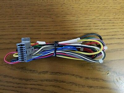 clarion 16 pin car stereo wire harness original new grey • 12 50$