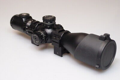 $120 • Buy Utg Accushot 3-12x44 Mill Dot Scope With Mounting Clamps Mint+++