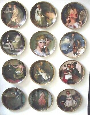 $ CDN82.70 • Buy Entire 12 Plate Norman Rockwell Set Rockwell's Rediscovered Women Wall Hangers L