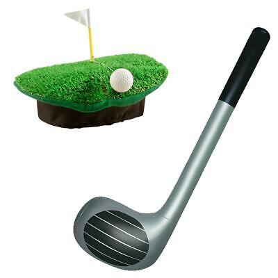 £5.20 • Buy Adult Crazy Golf Hat And Inflatable Golf Club Stag Party Golfing Pub Accessory