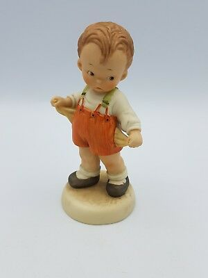 "Mable Lucie Attwell Porcelain Figurine ""its The Thought That Counts!"" Enesco '88 • 18.99£"