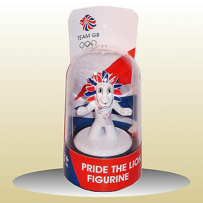 Pride The Lion Figurine - Olympic Mascot London 2012 - Die Cast In Dome NEW • 5.95£
