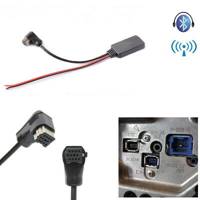 $16.67 • Buy 12Pin Car Bluetooth Receiver Module AUX-in Adapter Cable For Pioneer IP-BUS Port