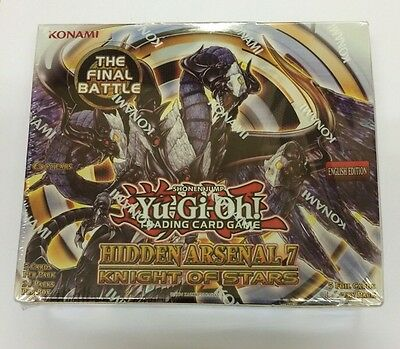 Yu-Gi-Oh! Hidden Arsenal 7 Knight Of Stars Booster Box Factory Sealed Unlimited • 144.99£