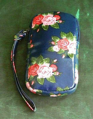 Forever England Vintage Rose Collection Oilcoth Bag By Katie Powell • 12.99£