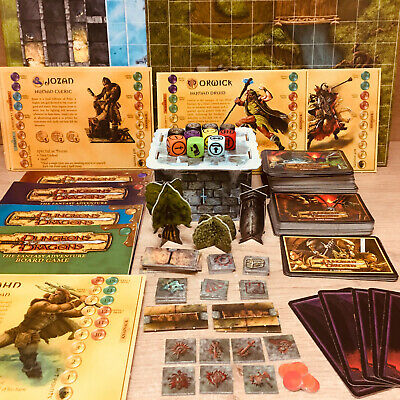 AU7.11 • Buy Dungeons & Dragons Boardgame Parker 2003 Components / Card Stock Multi-Listing