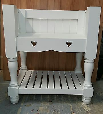 Pine Painted Kitchen Belfast/butlers Sink Unit/farrow And Ball Made To Measure • 310£