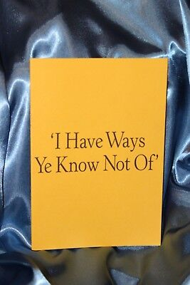 £32.70 • Buy I HAVE WAYS YE KNOW NOT OF Finbarr Book Occult White Magick  Grimoire Mind Power