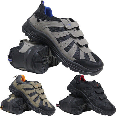 Mens Wide Fit Hiking Walking Sports Trainers Outdoor Trekking Low Ankle Boots • 11.95£