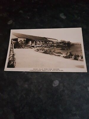 Dining Halls From Gardens Constitional Beach Club Hopton On Sea Posted 1935 • 6.99£