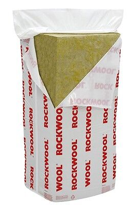£35.95 • Buy Rockwool 100mm RW3 ( 60kg Density) - Soundproofing For Walls,floors And Ceilings