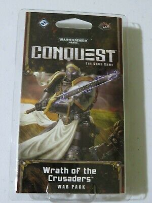 AU7.71 • Buy Warhammer 40k Wrath Of The Crusaders War Pack 60 Cards Conquest Card Game 40,000