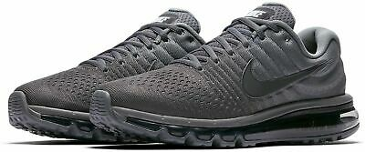 $169.99 • Buy Nike Air Max 2017 Cool Grey Size 7.5-15 Anthracite Dark Grey 849559 008