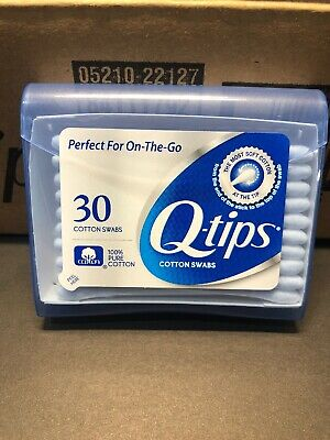 $ CDN56.38 • Buy Q-tips Cotton Swabs, Purse Pack, 30 Ct - White - Case Of 36
