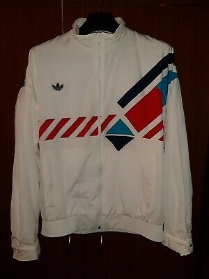 VINTAGE ADIDAS ORIGINALS 80S Tracktop Jacket D 50 RARE WEST GERMANY • 119.99£