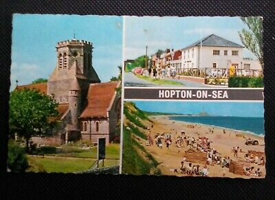 Hopton On Sea Postcard • 1£