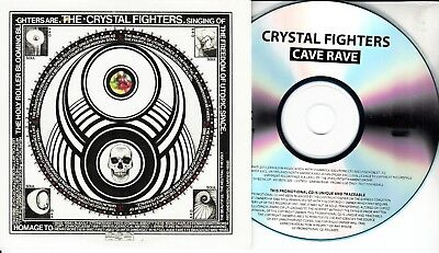 THE CRYSTAL FIGHTERS Cave Rave 2013 10-trk Numbered Promo Test CD • 4.99£