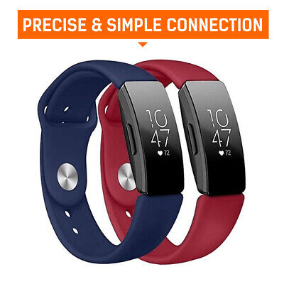 AU4.99 • Buy For Fitbit Inspire/Inspire HR Replacement Soft Silicone Sport Wrist Band Strap
