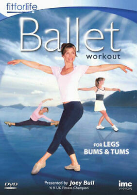 Ballet Workout - For Legs Bums And Tums DVD 2010 - Joey Bull - New & Sealed • 4.99£