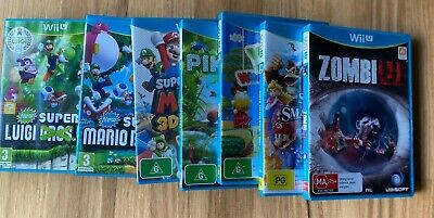 AU47 • Buy WiiU & Wii Games 12 To Choose From In Excellent Used Condition