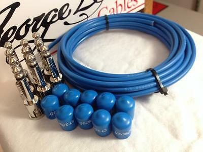 $ CDN123.33 • Buy George L's 155 Pedalboard Effects Cable Kit .155 Blue / Nickel - 10/10/10