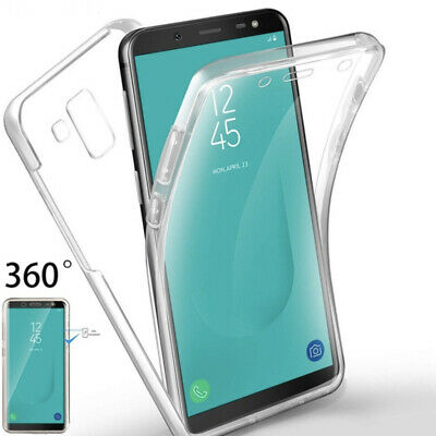 AU4.48 • Buy For Samsung Galaxy J6 Plus Shockproof Clear 360 Full Front+back Case J6 Plus