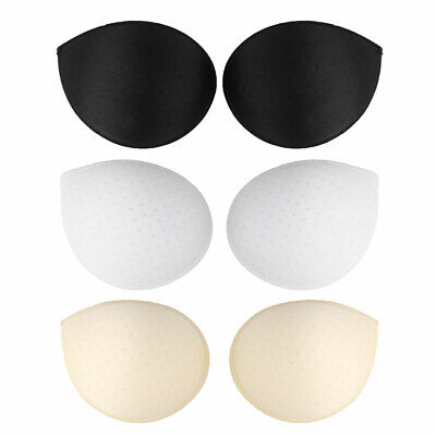£4.57 • Buy 1 Pair Women Removable Push Up Sponge Foam Bra Inserts Thick Pads Replacement