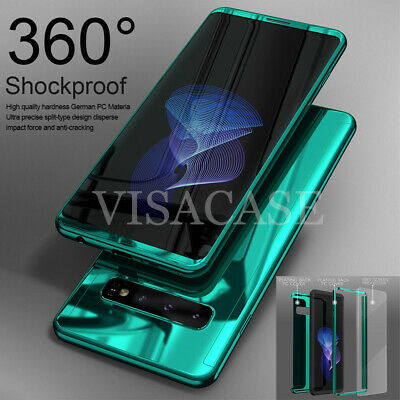 Samsung Galaxy Note 9 8 S10 S9 Plus Shockproof 360° Case Cover+Screen Protector • 5.59£