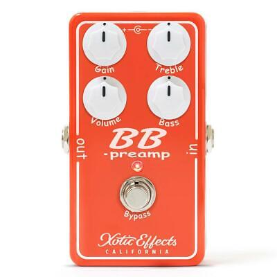 Xotic Effects BB Preamp Version 1.5 Overdrive Pedal • 122.36£