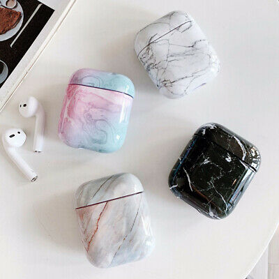 $ CDN5.34 • Buy For Apple AirPods 2 1 Charging Case Marble Pattern Earphone Cover Case Protector