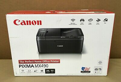 View Details Canon Pixma MX490 All-In-One InkJet Printer - Copier/Scanner/Fax Machine • 41.49$