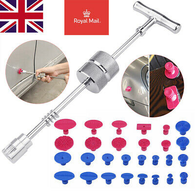 PDR Tools Dent Puller Hammer Paintless Dent Repair Removal W/Glue Pulling Tabs • 17.23£