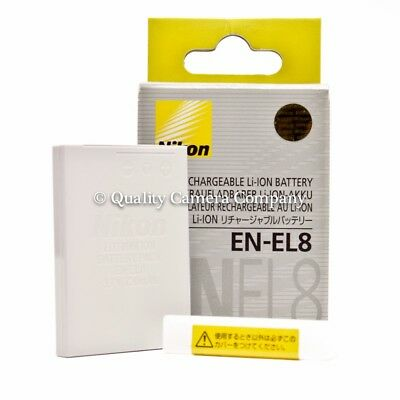 £12.03 • Buy Nikon EN-EL8 Rechargeable Li-ion Battery - NEW OLD STOCK - NIKON BRAND