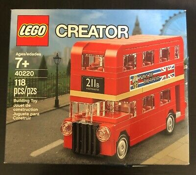 $ CDN19.13 • Buy LEGO Creator 40220 - London Double Decker Bus - 118 Pcs - New Mint In Sealed Box