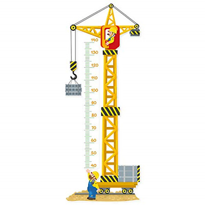 Stika.co WHC-CRANE Yellow Construction Crane Sticker, Construction Site Workers • 39.47£
