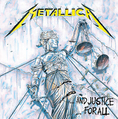 Metallica Framed Canvas Print Justice For All 40 X 40 Cm DC95985C • 19.99£
