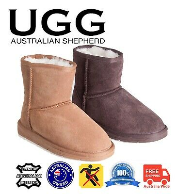AU62 • Buy UGG Boots Mini Classic Suede Upper & Sheepskin Inner Non-Slip Rubber Sole
