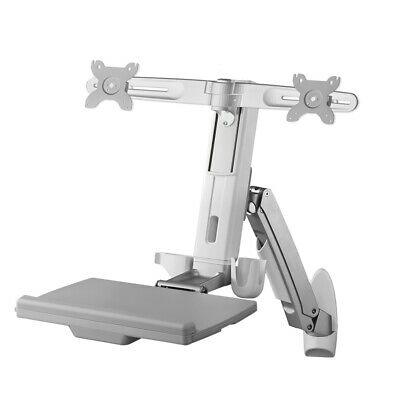 AMR2AWS AMER DUAL COMBO WORKSTATION WALL MOUNT SYSTEM :: AMR2AWS  (Monitors > Mo • 325.88£