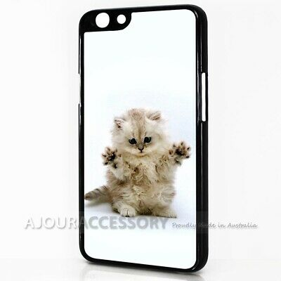 AU9.99 • Buy ( For Oppo A57 ) Back Case Cover AJ10050 Cute Pussy Cat