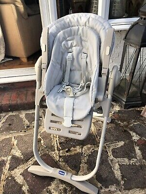 Chicco Polly 2 In 1 Baby Highchair Nature Colour • 40£