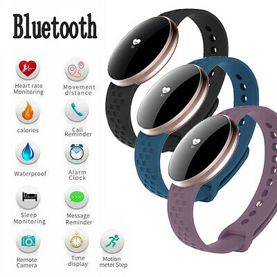 View Details Womens Bluetooth Smart Watch Fitness Tracker For IPhone Samsung Andriod Bracelet • 20.86£