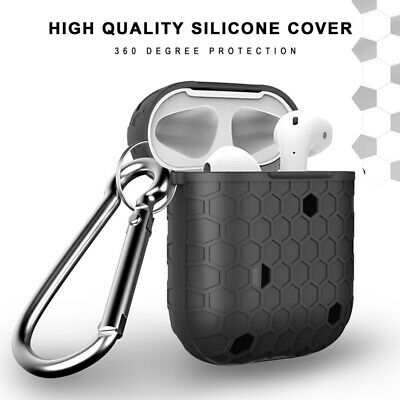 $ CDN4.78 • Buy Protective Silicone Case Skin Holder Bag For Apple AirPods Earphones Accessories