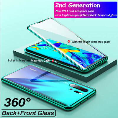 Magnetic Absorption 360 Protective Case Cover For Huawei P20 Pro P30 Lite P30 • 6.89£