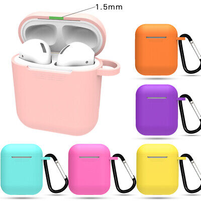 $ CDN1.82 • Buy For Apple AirPods Case Protective Silicone Cover AirPod Earphone Charger Skin A+